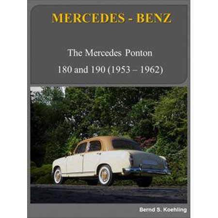 - Mercedes-Benz 180, 190 Ponton with buyer's guide and chassis number/data card explanation - eBook