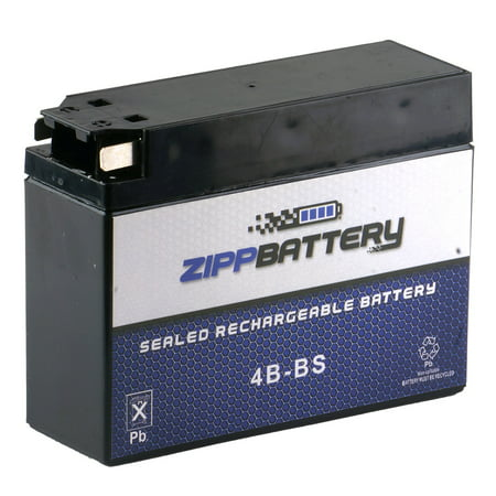 YT4B-BS High Performance - Sealed AGM Motorcycle Battery for 2007 Yamaha TTR 50E (Yamaha Battery Motorcycle)