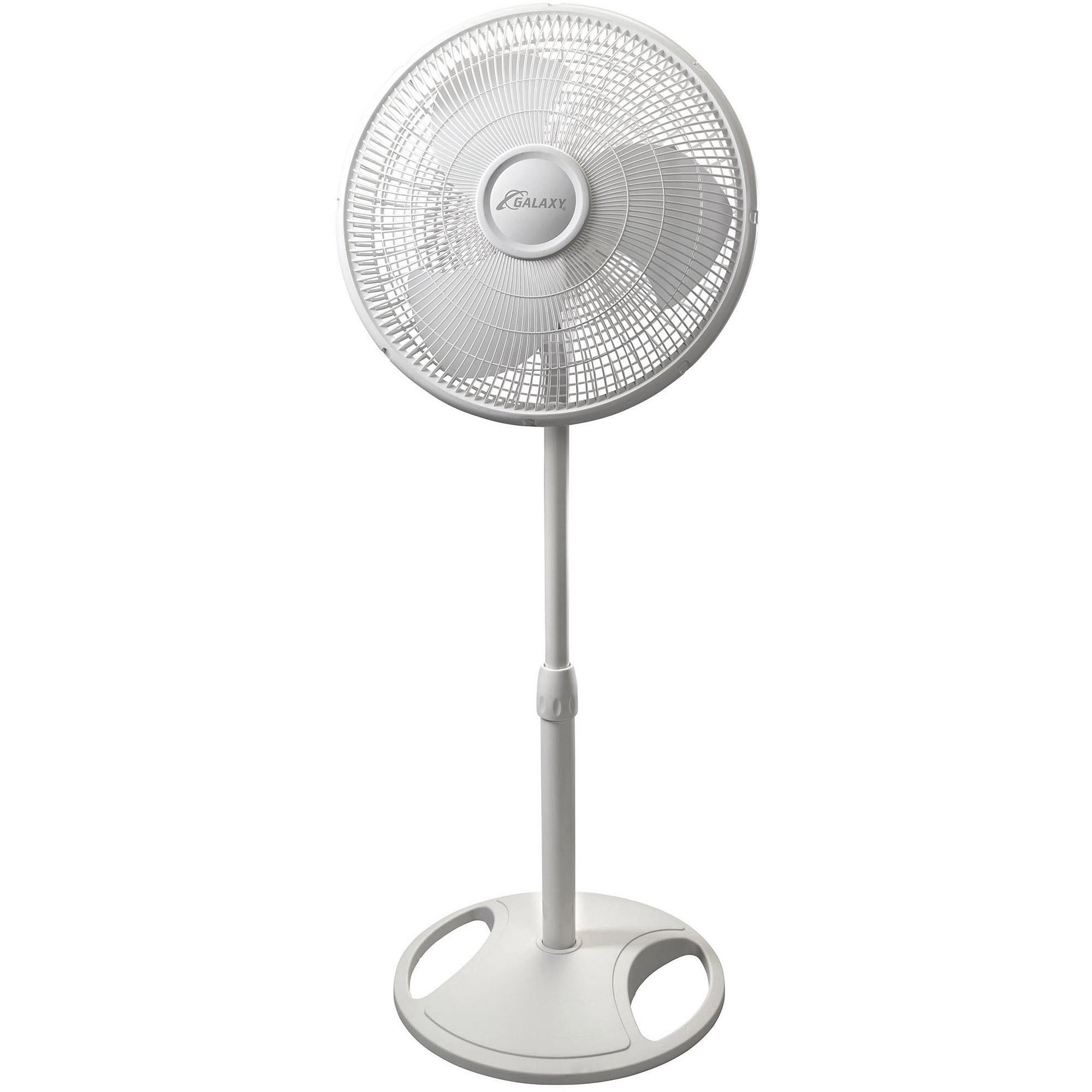 "Galaxy 16"" Oscillating Stand Fan"