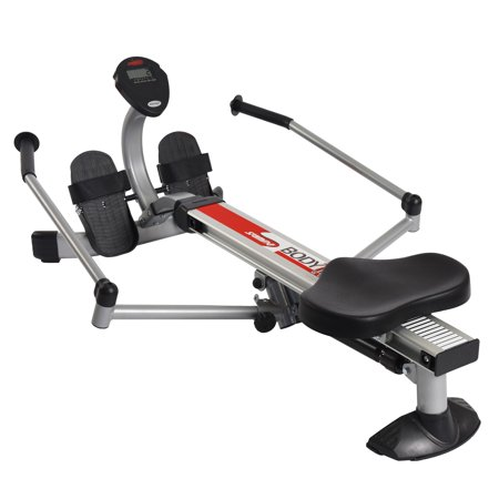 Stamina Body Trac Glider Rower w Gas Shock Resistance and Full-Range Rowing