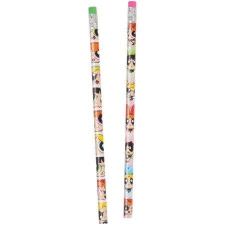 Powerpuff Girls Pencils, 8ct (Boy Pencils)