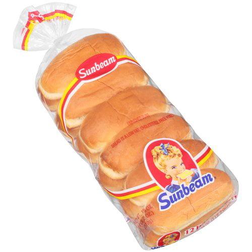 Sunbeam Hot Dog Buns, 12 ct, 18 oz