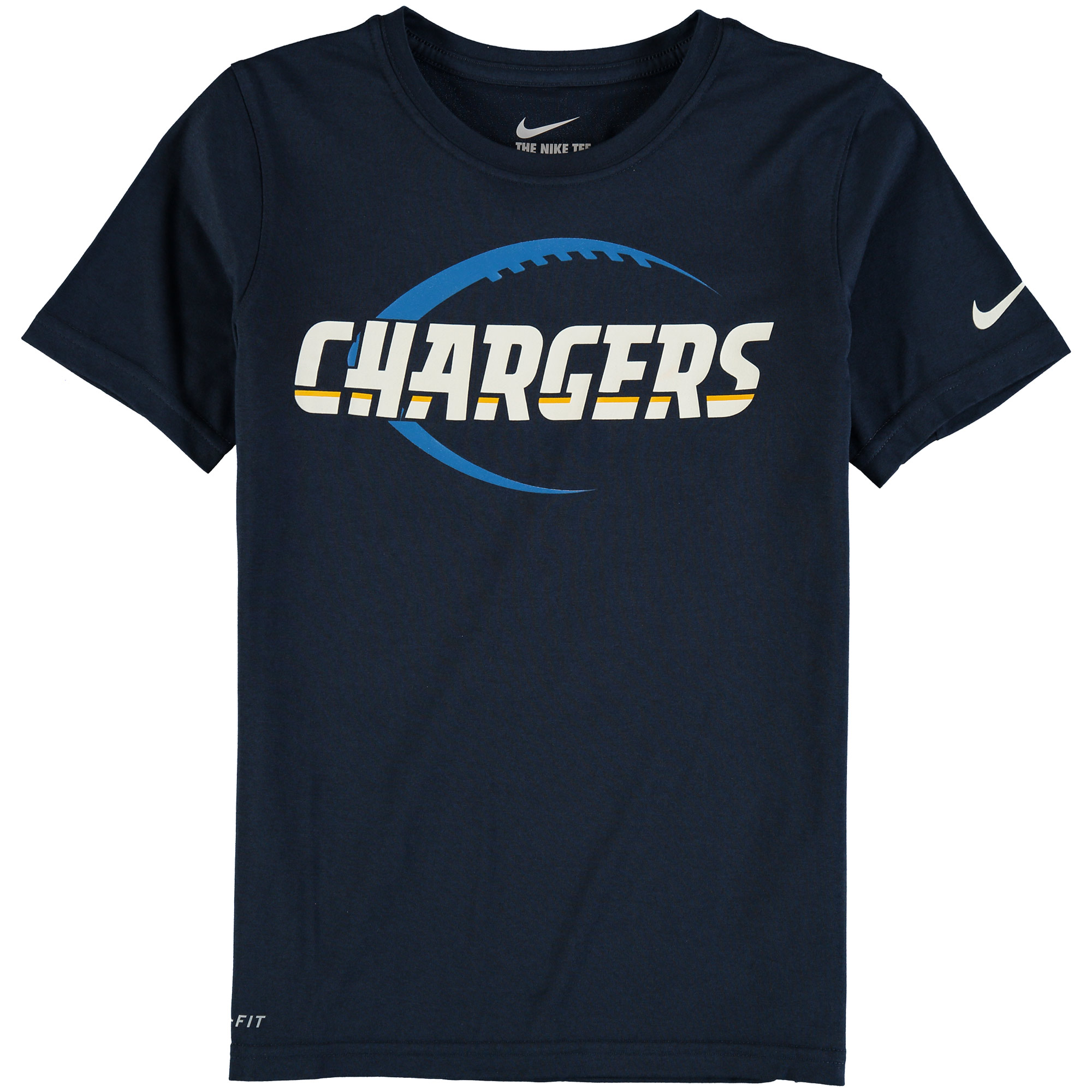 Los Angeles Chargers Nike Youth Legend Icon T-Shirt - Navy