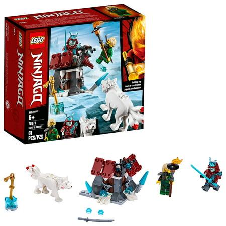 LEGO Ninjago Lloyd's Journey 70671 Toy Fortress Building Kit (81 Pieces)