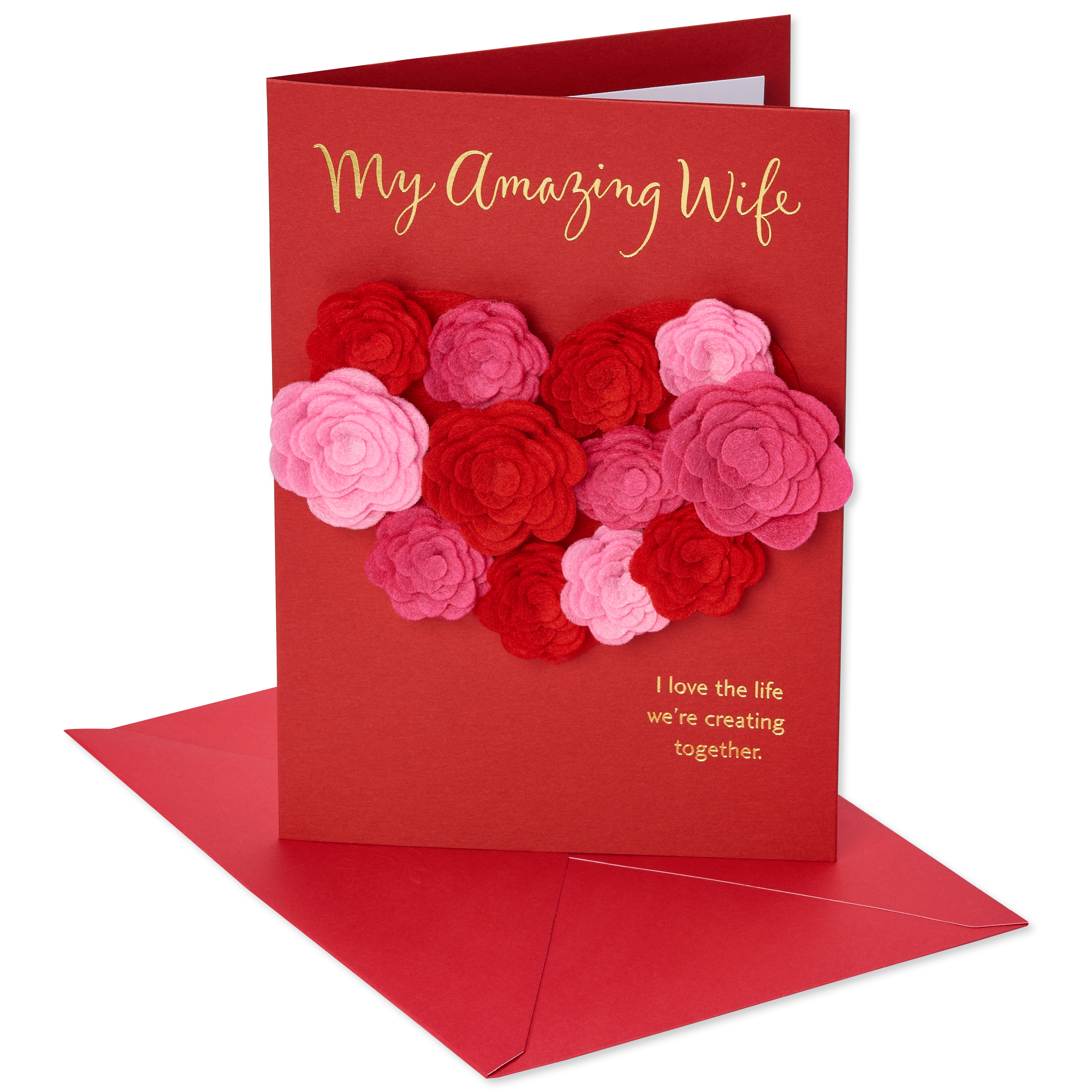 American Greetings Roses Valentines Day Card For Wife Walmart
