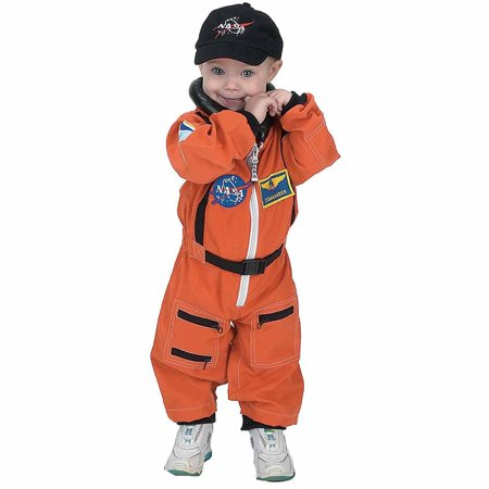 Cheap Halloween Costumes For 12-18 Months (NASA Orange Jr. Astronaut Suit Toddler Halloween Costume, Size 12-18)