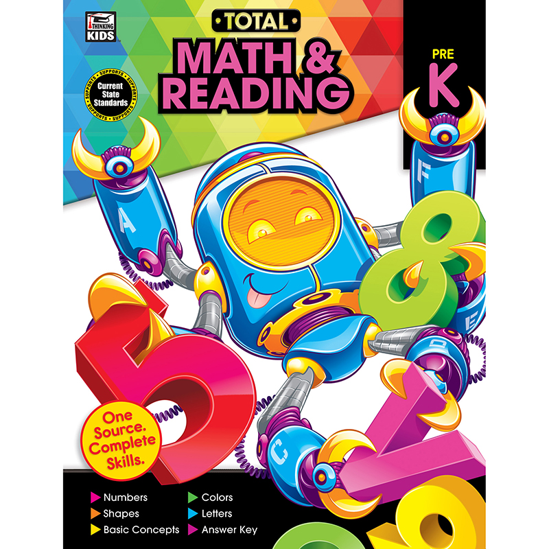Total Math & Reading, Grade PreK