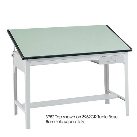 Lot of 3 Safco 60 Inch x 37 1/2 Inch Drafting Tables + Accessories Precision Table -
