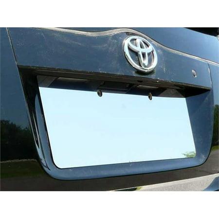Fits 2004-2009  TOYOTA PRIUS 4-door -Stainless Steel License Plate Bezel - License Plate Bezel