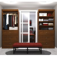 Versatile by Bestar 72'' Storage Kit in Tuscany Brown