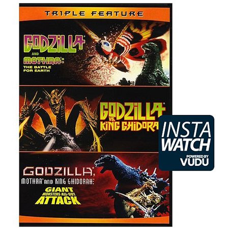 Godzilla And Mothra: The Battle For Earth / Godzilla Vs King Ghidorah / Godzilla: Mothra And King Ghidorah: Giant Monsters All-Out Attack (DVD) - Giant Dad
