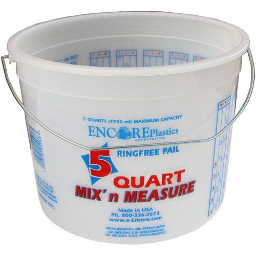 Encore Plastics 5-Qt Mix 'n Measure