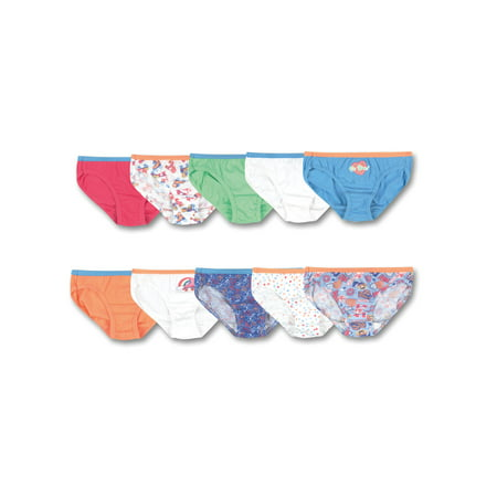 Hanes Girls' Tagless Cotton Bikini Panty, 10 Pack](Parties For Kids)