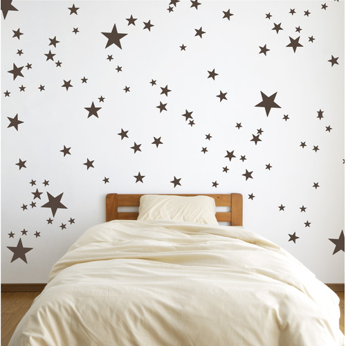 The Decal Guru Stars Wall Decal