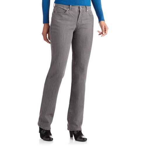 GLO by Gloria Vanderbilt Women's Tara Curvy Fit Straight-Leg Jeans