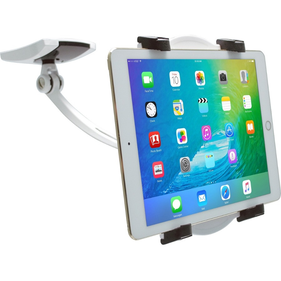 CTA Digital Wall, Under Cabinet and Desk Mount with 2 Mounting Bases for Tablets