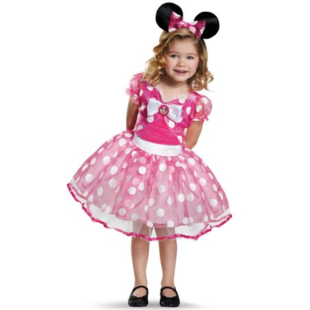 Pink Minnie Tutu Deluxe Girls Child Halloween Costume