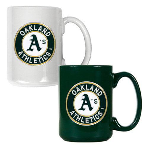 Great American MLB Logo Ceramic Mug Set