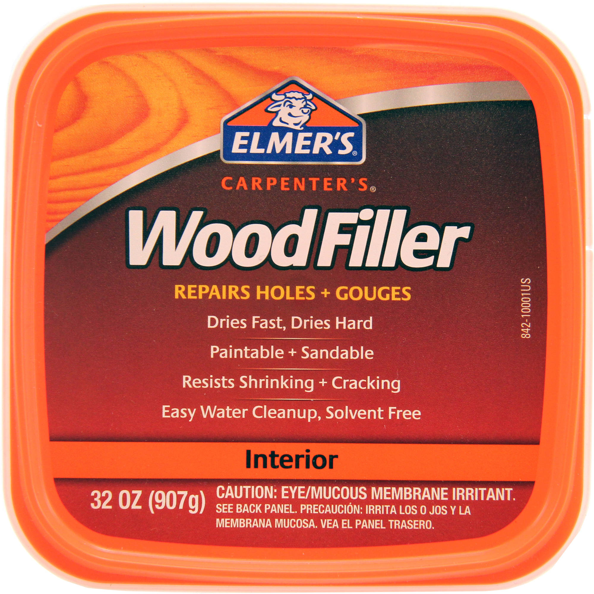 Elmer's Carpenter's Wood Filler, Natural, 32 oz