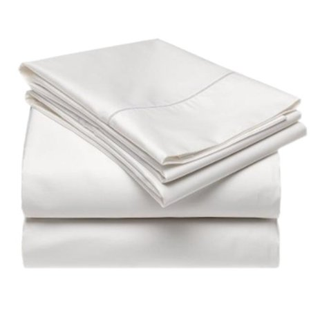 Gotcha Covered Terra Bed Sheet Set Low Profile, Pearl - Split King