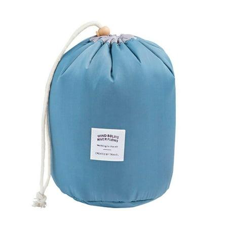 63e268e92c Travel Cosmetic Bags Barrel Makeup Bag