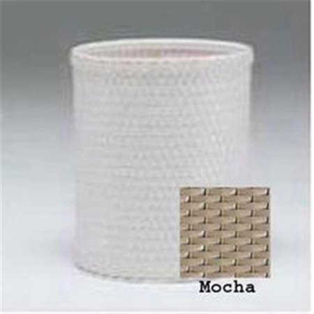Chelsea Collection Round Wastebasket in Mocha