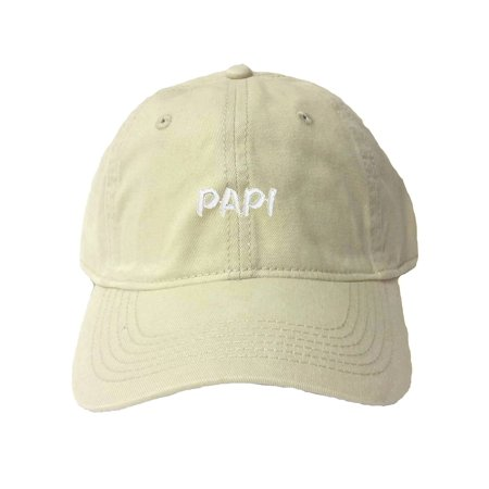 4fb45e976121d Go All Out Adult Papi Embroidered Deluxe Dad Hat - Walmart.com