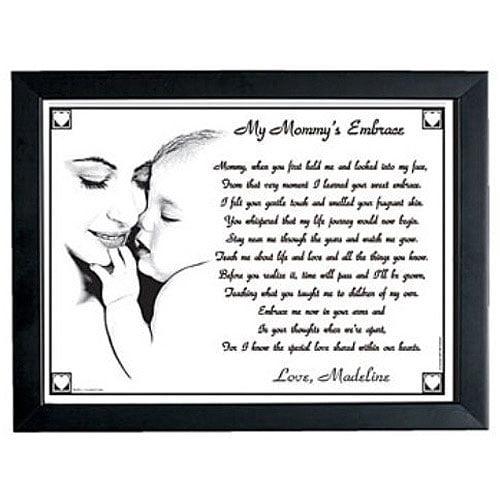 Personalized My Mommy's or Grandma's Embrace Keepsake Print