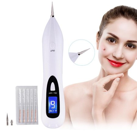 Tattoo Removal Machine, Spot Removal Machine for Freckles, Moles, Age Spots, Tattoo, Nevus, Birthmark, Skin Pigmentation, Professional Mole Removal Pen Device, No Bleeding & Rapid