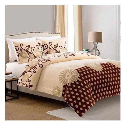 Luxury Home Daisy 3 Piece Queen Comforter Set