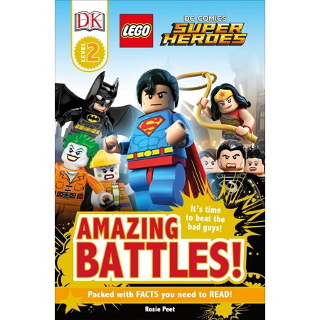 DK Readers L2: LEGO® DC Comics Super Heroes: Amazing Battles! : It's Time to Beat the Bad Guys!](Comic Book Guy)