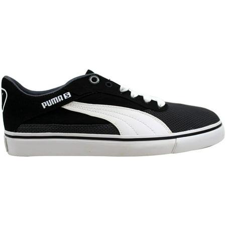 Puma Black Dark Shadow - Puma Maeko S Jr Dark Shadow/Black-White  Grade-School 353092 04 Size 5.5 Medium