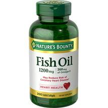 Vitamins & Supplements: Nature's Bounty Fish Oil