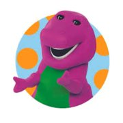 Favorite Barney The Dinosaur Show Mascot Kids TV Show Wall Decals Decor Baby Songs I Love You Purple Dinosaurs Sticker Room Decoration for Bedrooms Vinyl Stickers Sticker Boy Girls Size (40x40 inch)