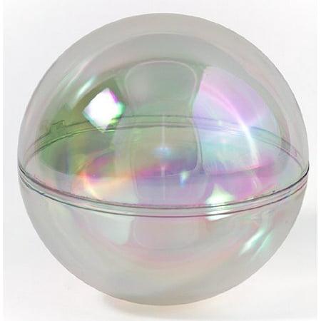 Darice Holiday 80mm AB Finish Plastic Ornament Ball (1 - Darice Holiday Decor Ornament