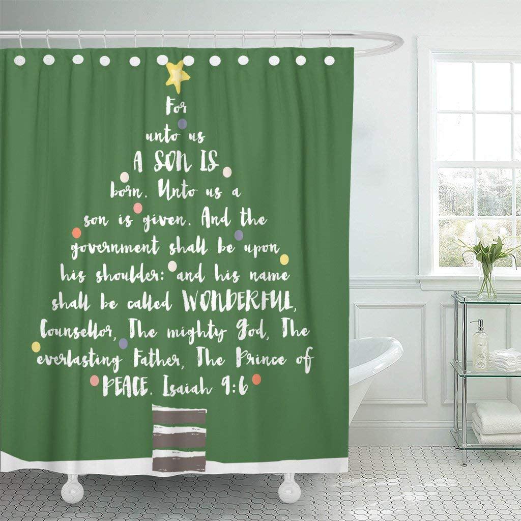 PKNMT Religious Christmas Tree Bible Verse Christian ...