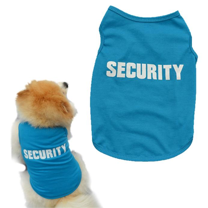New Fashion Summer Cute Dog Pet Vest Puppy Printed Cotton T Shirt