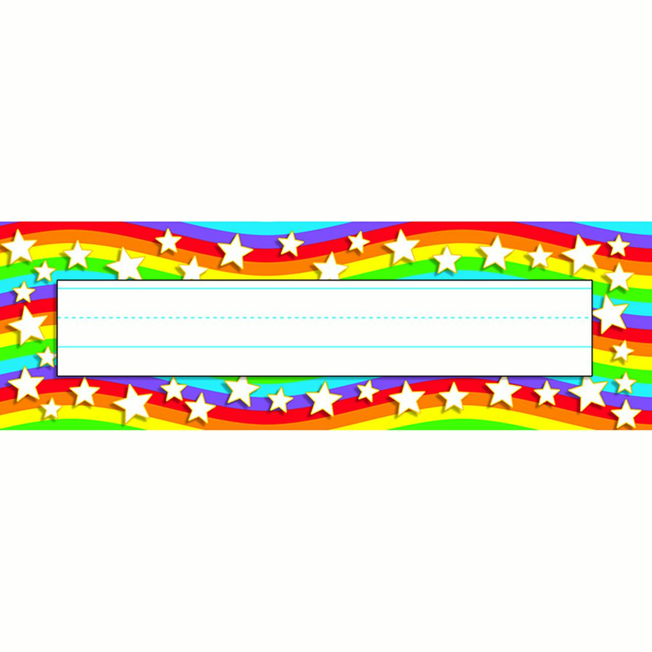 Star Rainbow Desk Toppers Name - image 1 of 1