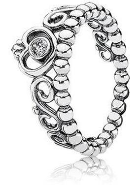 Product Image PANDORA Princess Tiara My Princess Ring Size 4.5 - 190880CZ-48