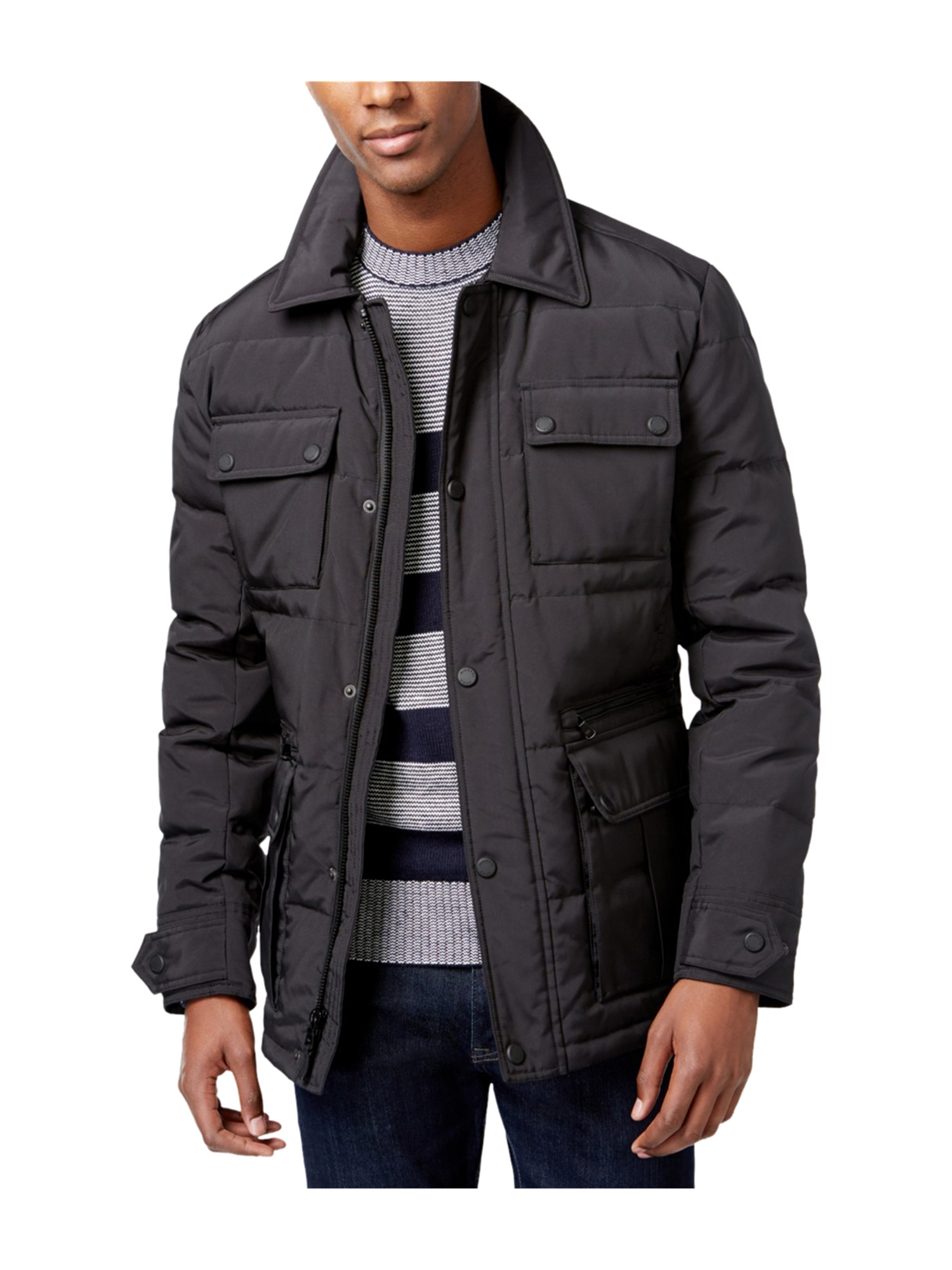 014dd934c Michael Kors Mens Linton Down Jacket