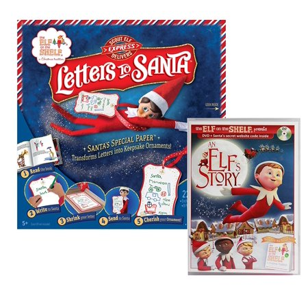 Elf on the shelf Letters to Santa and An Elf's story DVD