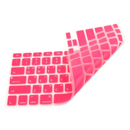 "Korean Silicone Keyboard Skin Cover Pink for Apple Macbook Air 13""15""17"" - image 1 de 2"