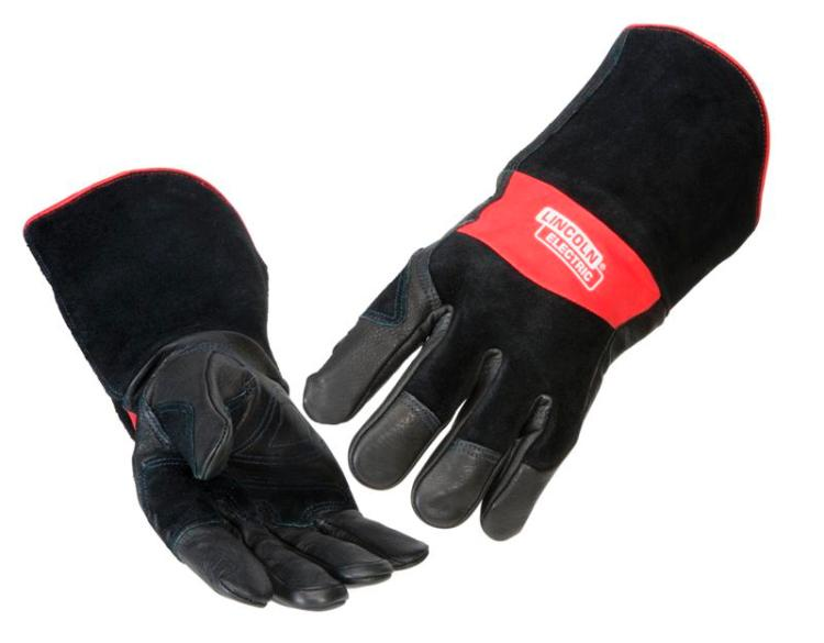 Lincoln Electric K2980 Premium Grain Cowhide MIG Stick Welding Gloves Med. to XL by Lincoln Electric