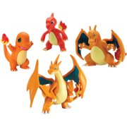 Pokemon Trainers Choice 4-Figure Gift Pack Charmander Charmeleon Charizard and Mega Charizard Y
