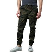 Men's Slim Fit Stretch Cargo Jogger Pants