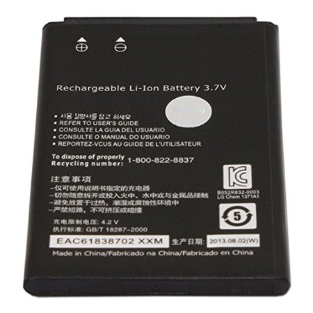 World Star ™ Replacement Battery BL-44JS 1700mAh 3.7V for LG Lucid VS840 Viper 4G LS840 ( 2 Years Warranty )