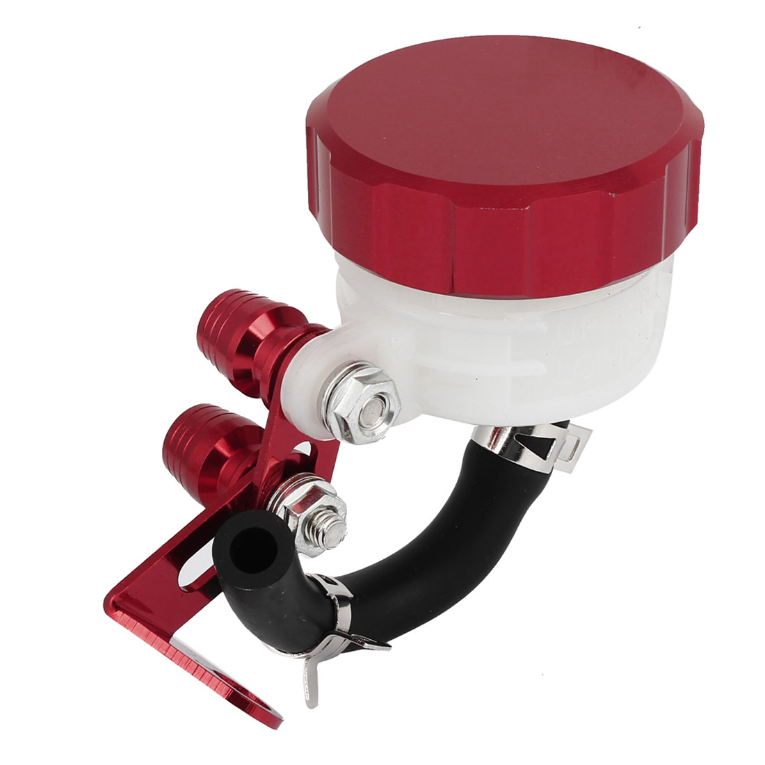 Brake Fluid Reservoir Remoulded Cylindrical Motorcycle Pump Oil Cup Red