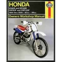 Honda XR80R, XR100R, CRF80F, CRF100F Owners Workshop Manual