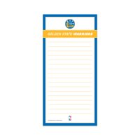 GOLDEN STATE WARRIORS CLASSIC MAGNETIC LIST PAD