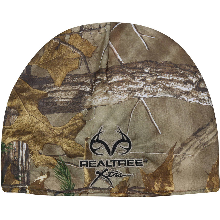 Realtree Xtra Performance Beanie, Reversible To Blaze Fleece